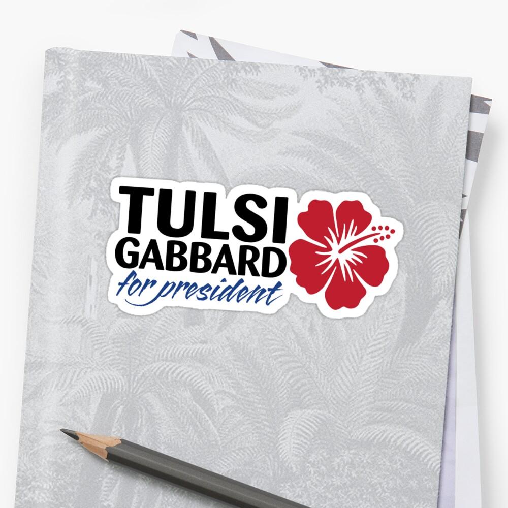 Tulsi Gabbard for President 2020 Sticker
