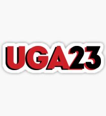 UGA 2023 Sticker