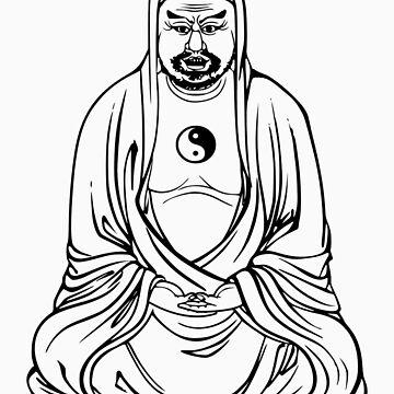 Shady Buddha by buddhabubba
