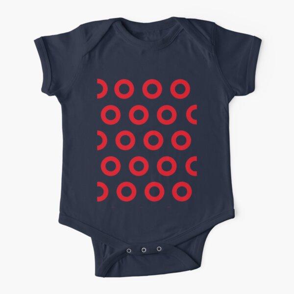 Jon Fishman - Phish Drummer Red Circle Print Short Sleeve Baby One-Piece