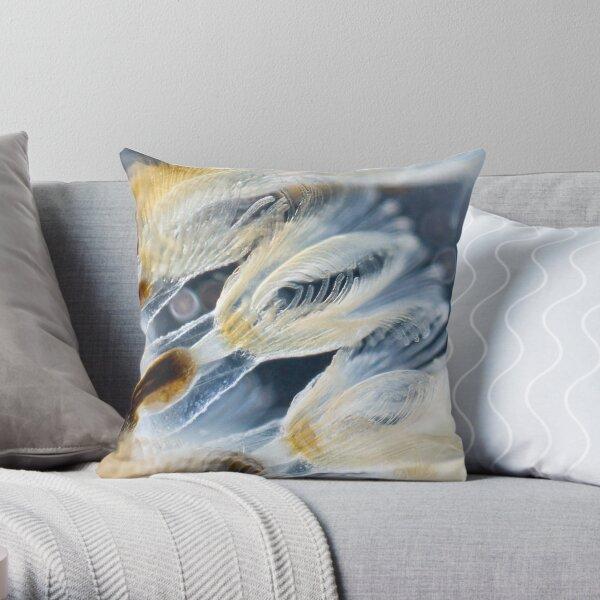 Bryozoa Throw Pillow