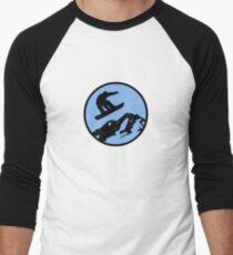 snowboarding 3 Men's Baseball ¾ T-Shirt