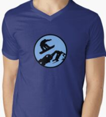 snowboarding 3 Mens V-Neck T-Shirt