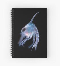 Crustacean planktonic larva Spiral Notebook