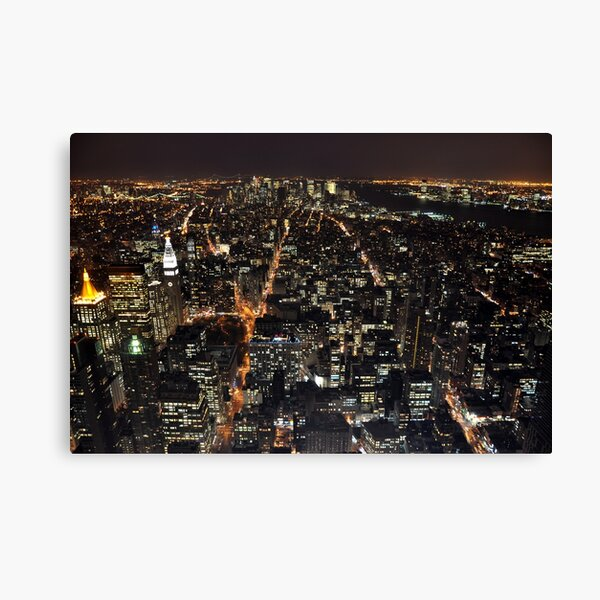 New York, New York! Canvas Print