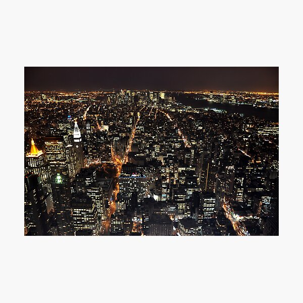New York, New York! Photographic Print