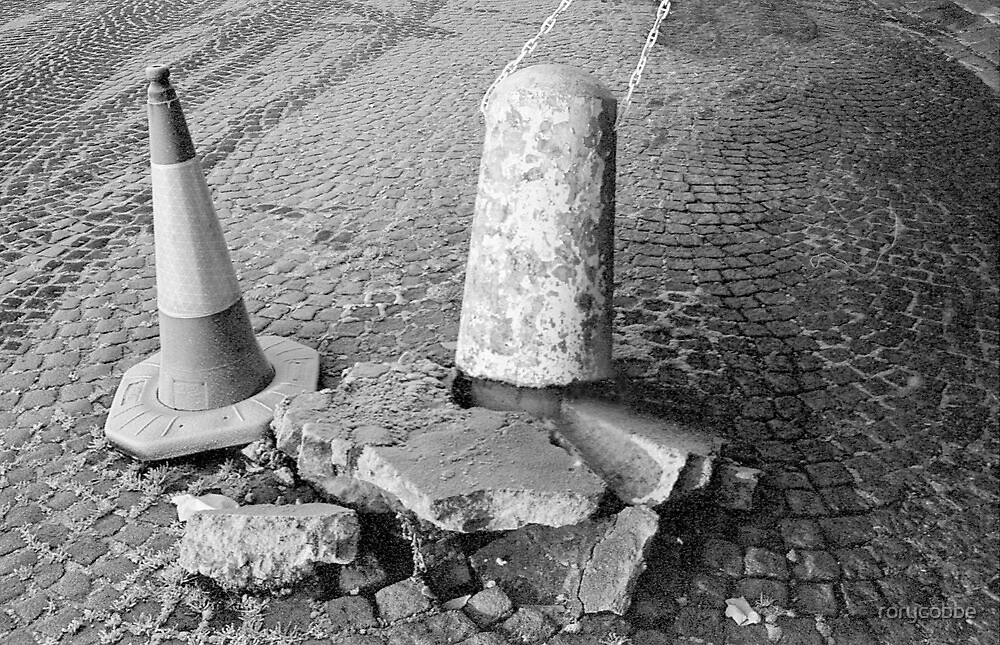 Non Identical Bollard Twins  by rorycobbe