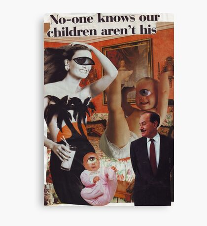No-One Knows Canvas Print