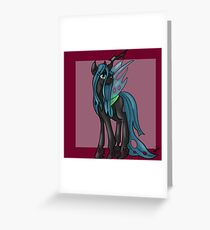 Queen Chrysalis Greeting Card