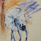 Ballerina Sketch by Sara Riches