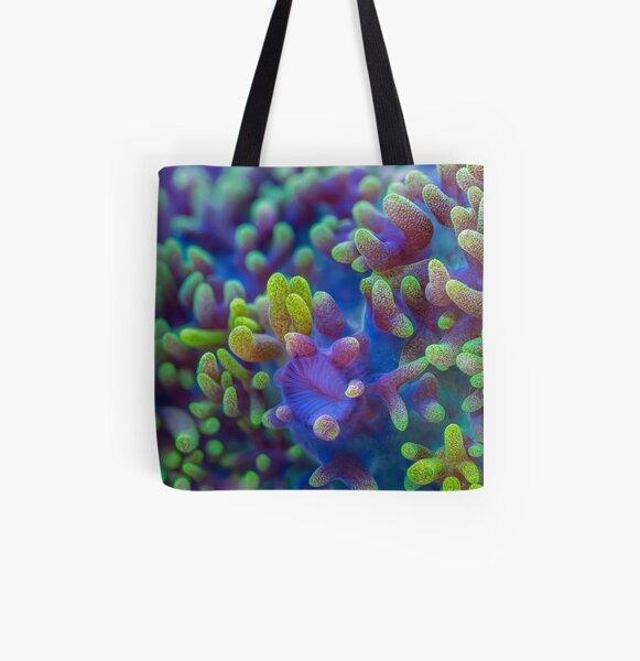 Corallimorph All Over Print Tote Bag