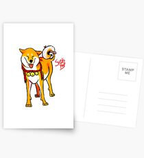 Sushi pup Postcards