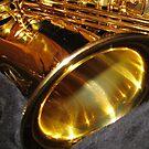 Schwing die Musik! Altsaxophon Bell von BlueMoonRose