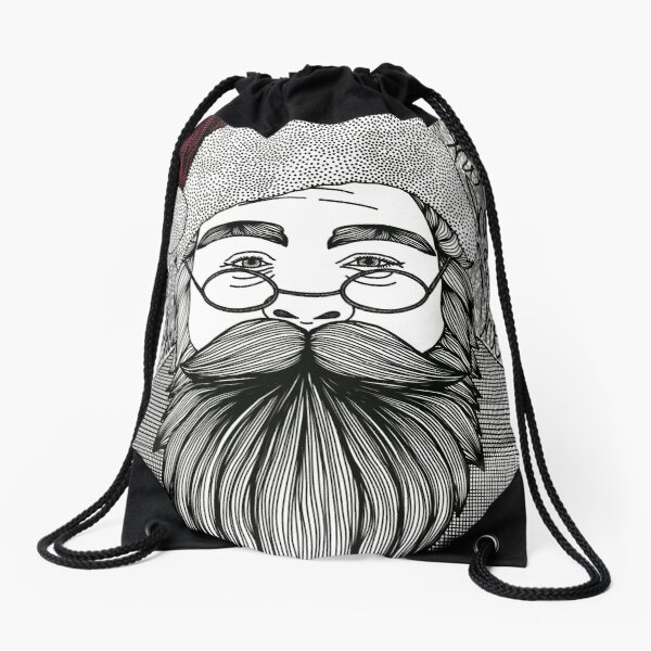 Ho Ho Ho!!!! Drawstring Bag