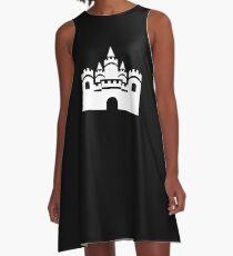 White Castle Icon A-Line Dress