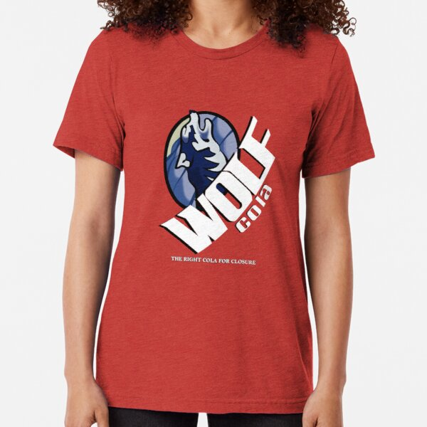 Wolf Cola - The Right Cola for Closure Tri-blend T-Shirt