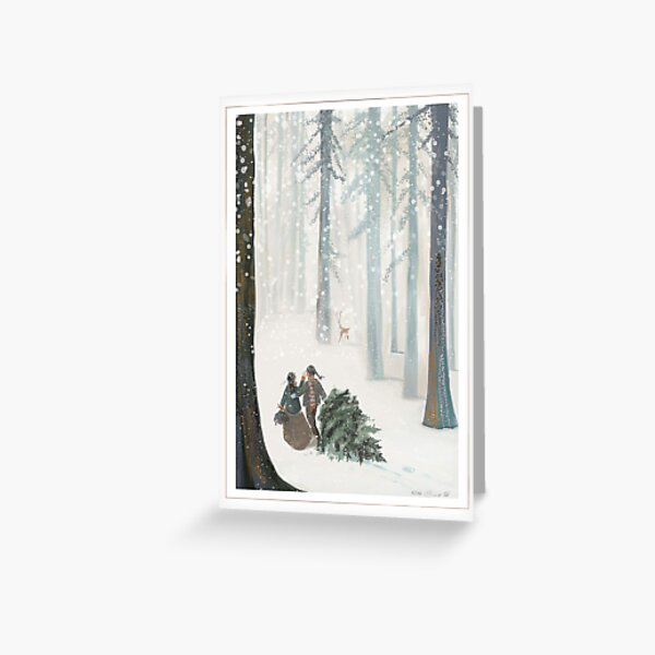 FirstFraserTree Greeting Card
