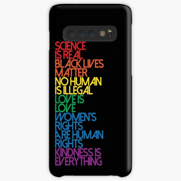 Science is Real Black Lives Matter Samsung Galaxy Snap Case