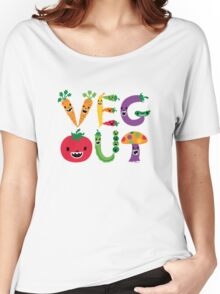 Veg Out - light colors Women's Relaxed Fit T-Shirt