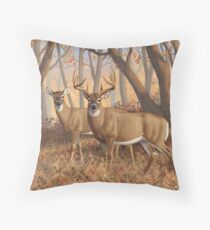 Cojín Whitetail Deer Monster Buck and Doe