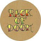 Rack of Doom Tattoo (Round) by Alex Heberling