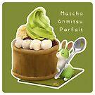 Matcha Anmitsu Parfait - English var BG by maygreen