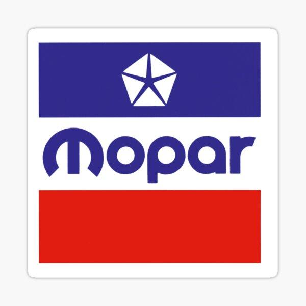 Vintage Mopar Logo Sticker