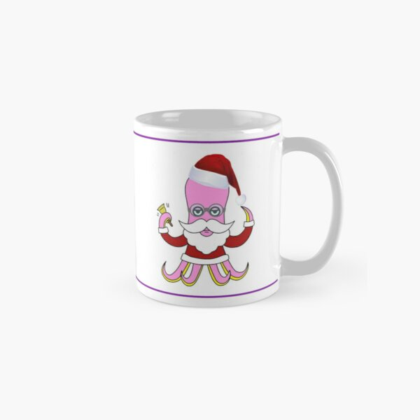 Poulpe Noël Mug classique