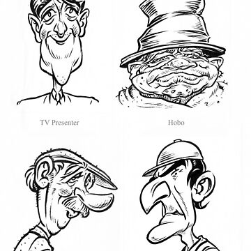 Caricature Sketches 1 by newfeenix