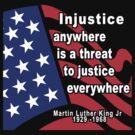 Martin Luther King Jr. Dark by HolidayT-Shirts