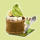 Matcha Anmitsu Parfait by maygreen