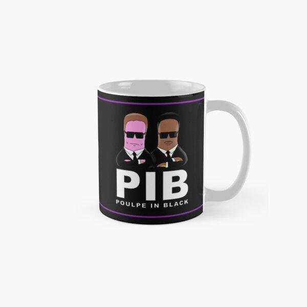 Mug Poulpe in black Mug classique
