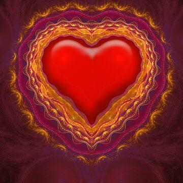 Fractal Heart #2 by tnelson612