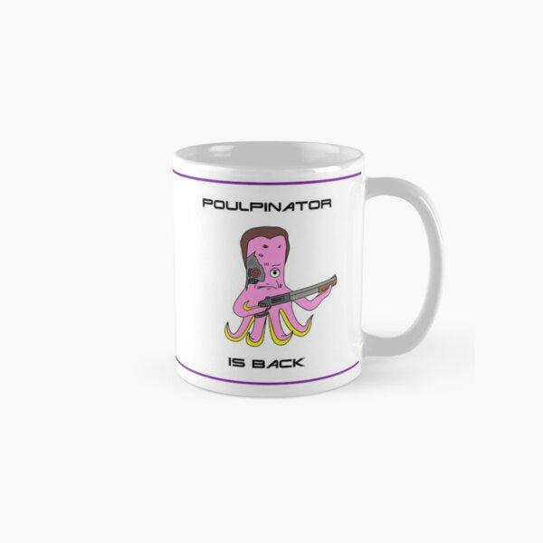 Mug Poulpinator (Terminator parody) Mug classique