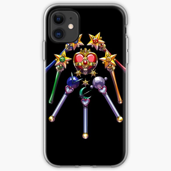 Henshin Items S (on black) iPhone Soft Case