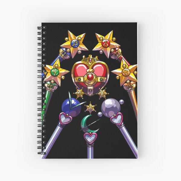 Henshin Items S (on black) Spiral Notebook