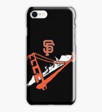 San Francisco Giants Stencil White iPhone Case/Skin