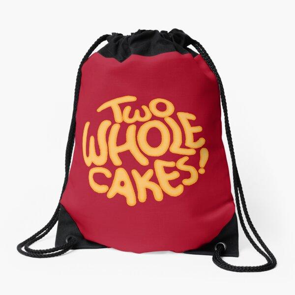 Two Whole Cakes! Drawstring Bag
