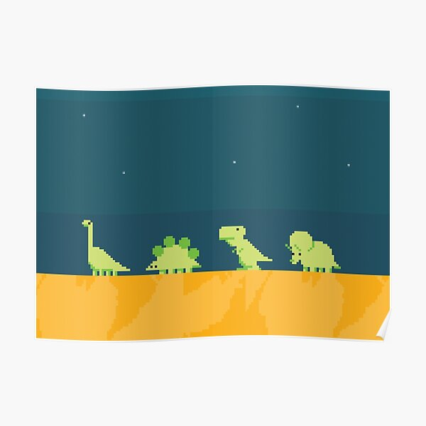 DINOSAURS! Poster