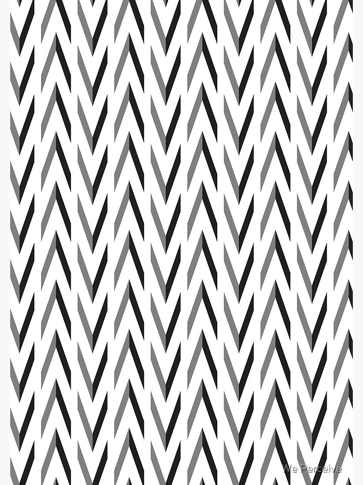Geometric pattern - simple, black & grey by CitizenWong