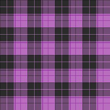 Simple tartan pattern in purple by pASob-dESIGN
