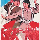 North Korea's got talent propaganda poster by monsterplanet