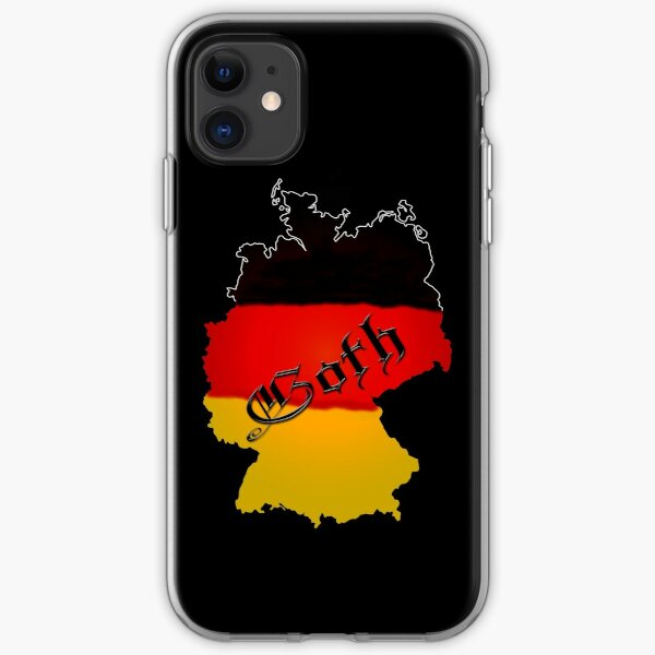 Germany iPhone Soft Case