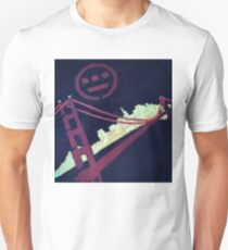 Stencil Golden Gate San Francisco Unisex T-Shirt