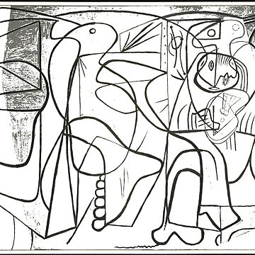 #Artistandhismodel #PabloPicasso #Neoclassicist #Surrealist #Period #Surrealism #genrepainting #Musée #Picasso #Paris #France #modernart #illustration #art #design #chalkout #vector #scribble #pattern by znamenski