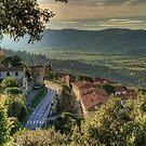 Cortona Tuscany by Murray Swift