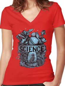 Science Women's Fitted V-Neck T-Shirt