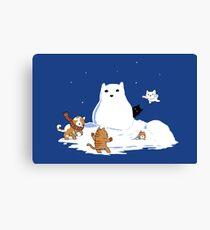 Snowcat Canvas Print