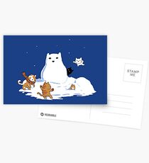 Snowcat Postcards