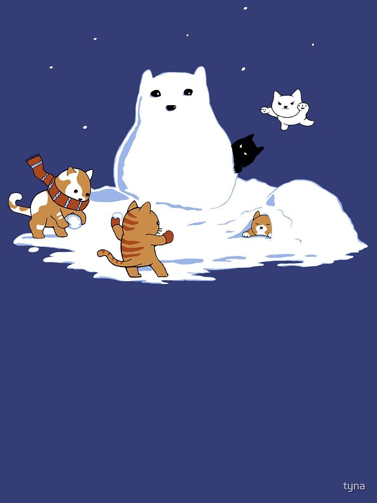 Snowcat by tyna